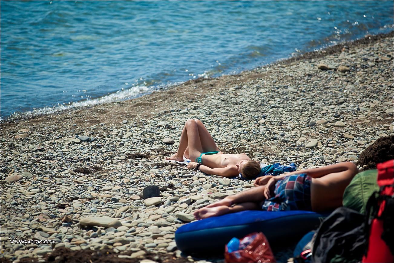 Как снимали фильм на нудистском пляже