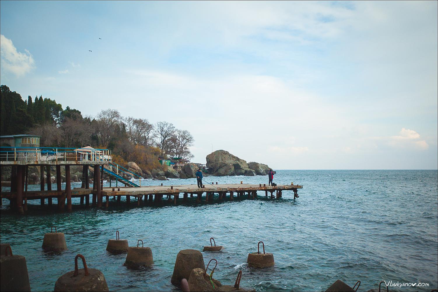 Фотограф, Москва, Владимир Лукьянов, Крым, Алупка, море