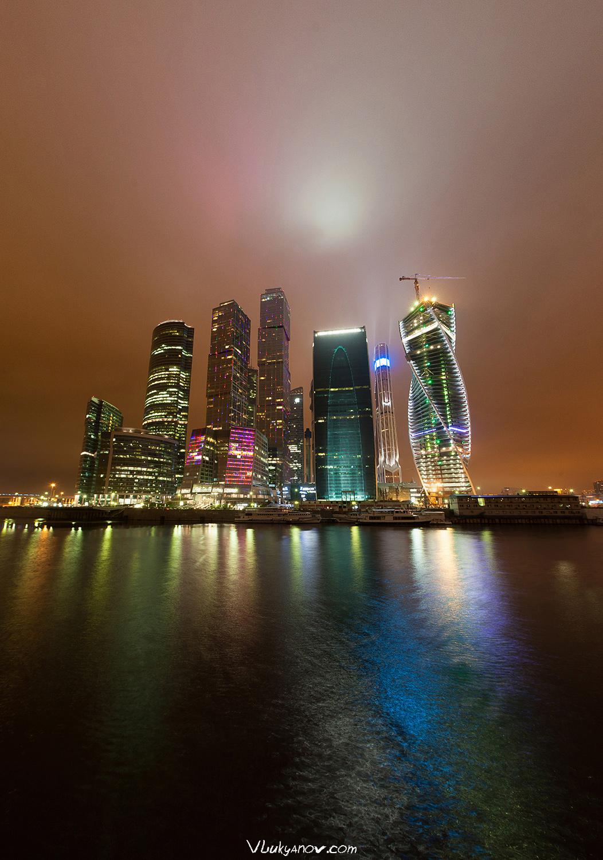 Фотограф, Владимир Лукьянов, Москва, Москва-сити