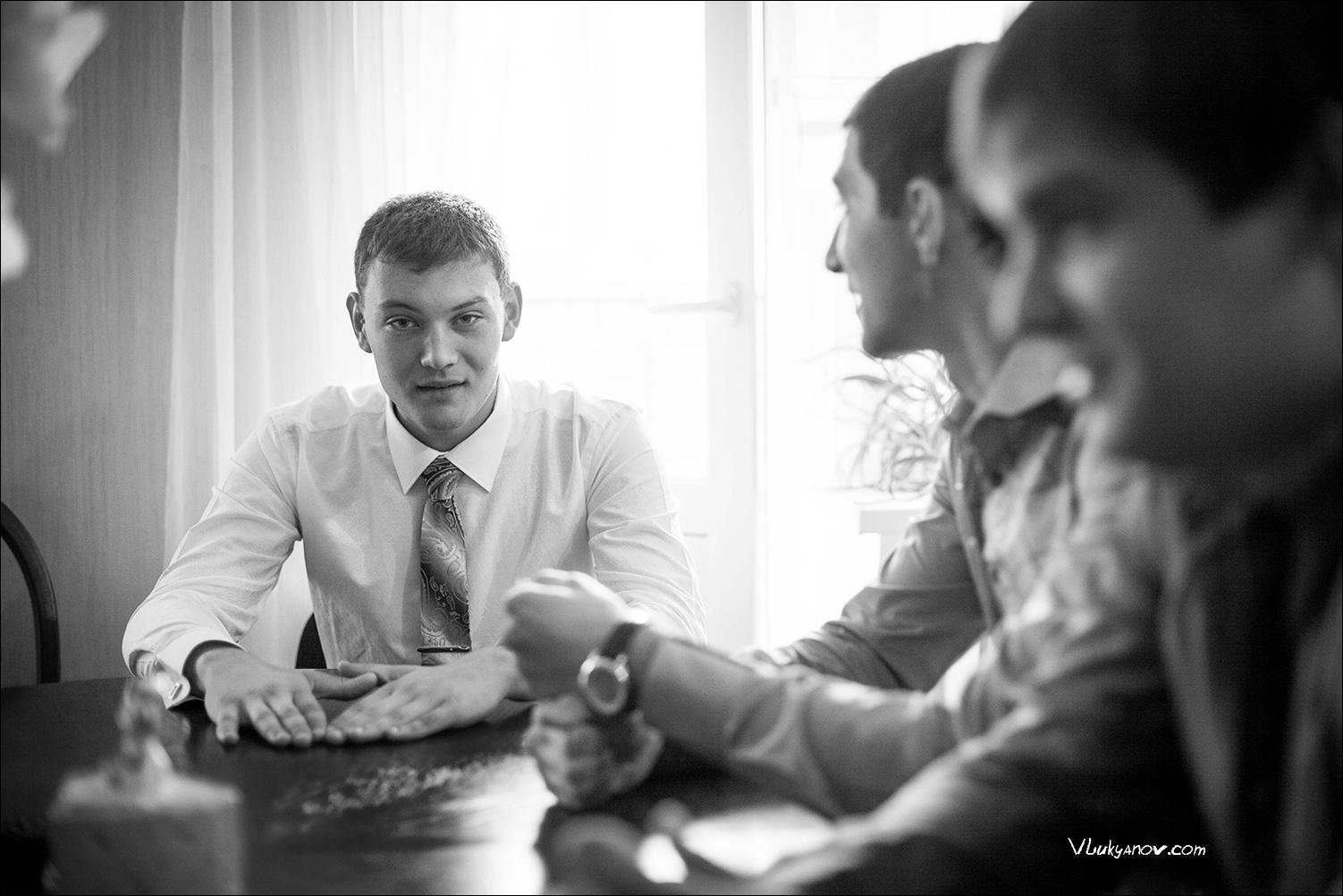 Фотограф, Владимир Лукьянов, Свадьба