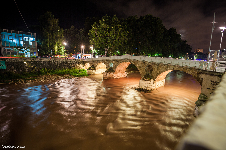 Латинский мост, Балканы, Сараево, Босния и Герцеговина, Владимир Лукьянов, Фотограф