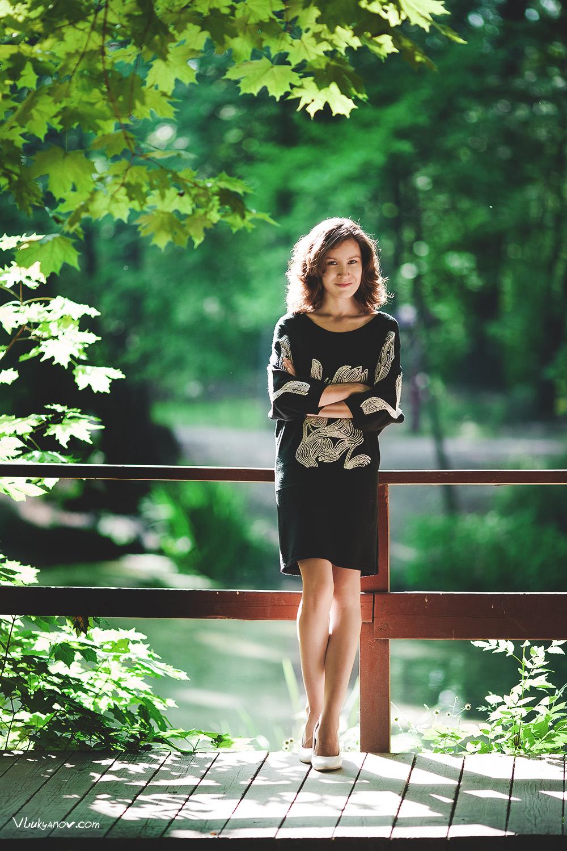 Портрет, девушка, фотосессия, Владимир Лукьянов, Фотограф