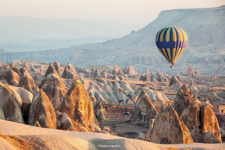Фотограф, Владимир Лукьянов, Турция, Каппадокия, воздушный шар