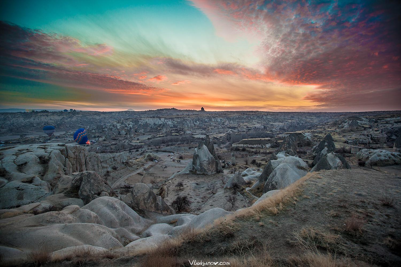 Фотограф, Владимир Лукьянов, Турция, Каппадокия, Balloon, Воздушный шар, Рассвет, Sunset Place