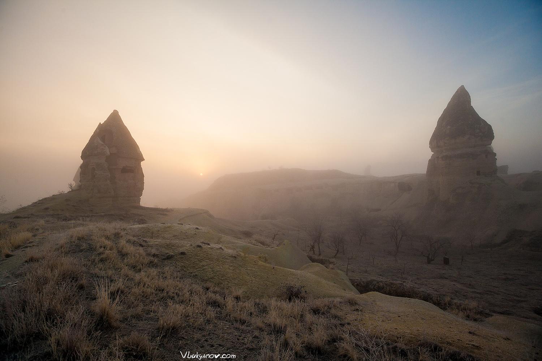 Фотограф, Владимир Лукьянов, Турция, Каппадокия, Гёреме, Pigeon Valley, Долина Голубей