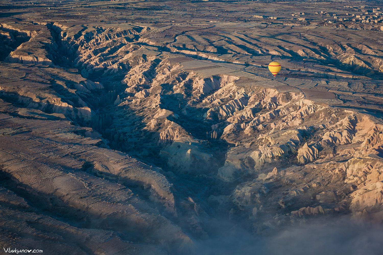 Фотограф, Владимир Лукьянов, Турция, Каппадокия, Воздушный шар, Balloon, Учхисар, Гёреме