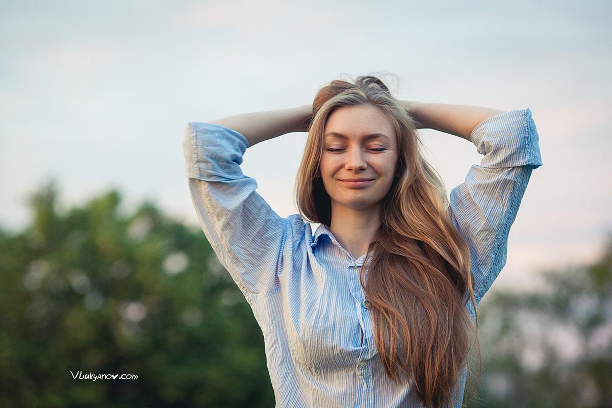 Путешествие, Беларусь, Белоруссия, Владимир Лукьянов, Фотограф, Фотосессия, парк, девушка, портрет