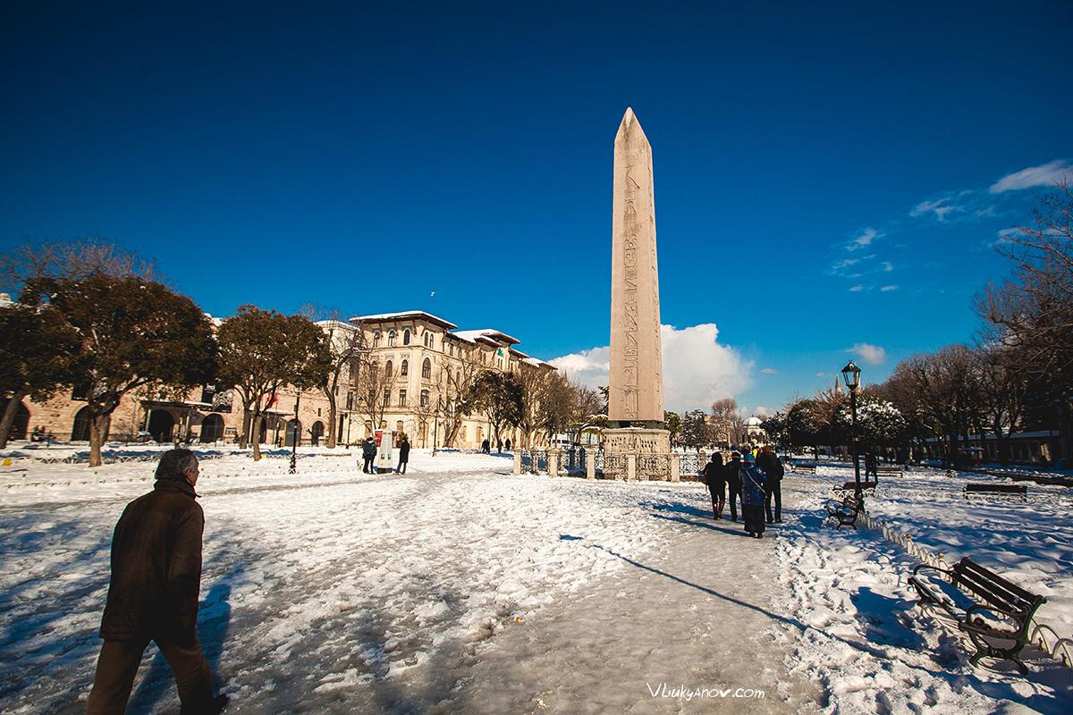 Феодосийский обелиск, Владимир Лукьянов, Фотограф, Стамбул, Турция, Путешествие