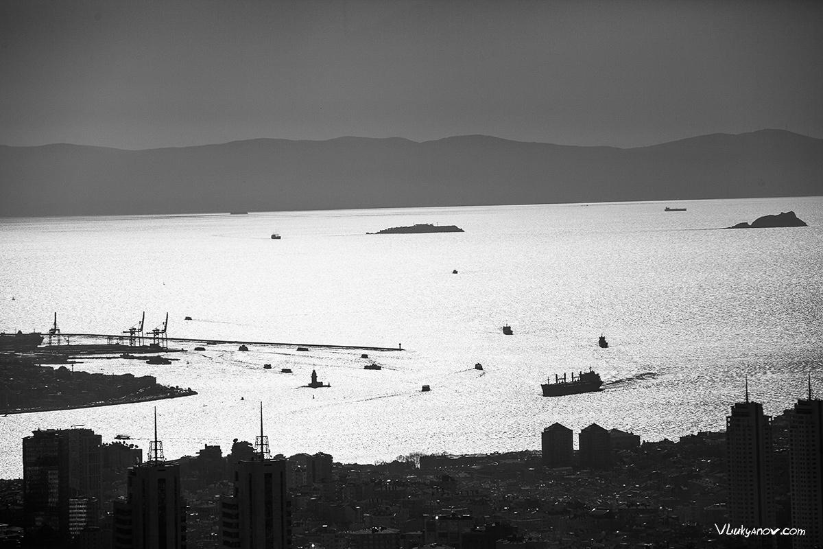 Владимир Лукьянов, Фотограф, Стамбул, Турция, Путешествие, Стамбул, сапфир, город, высотка
