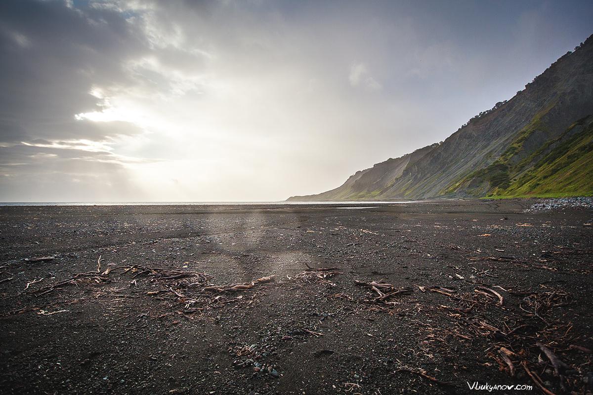Владимир Лукьянов, Фотограф, Камчатка, природа, пляж, Россия, океан, тихий океан, поход