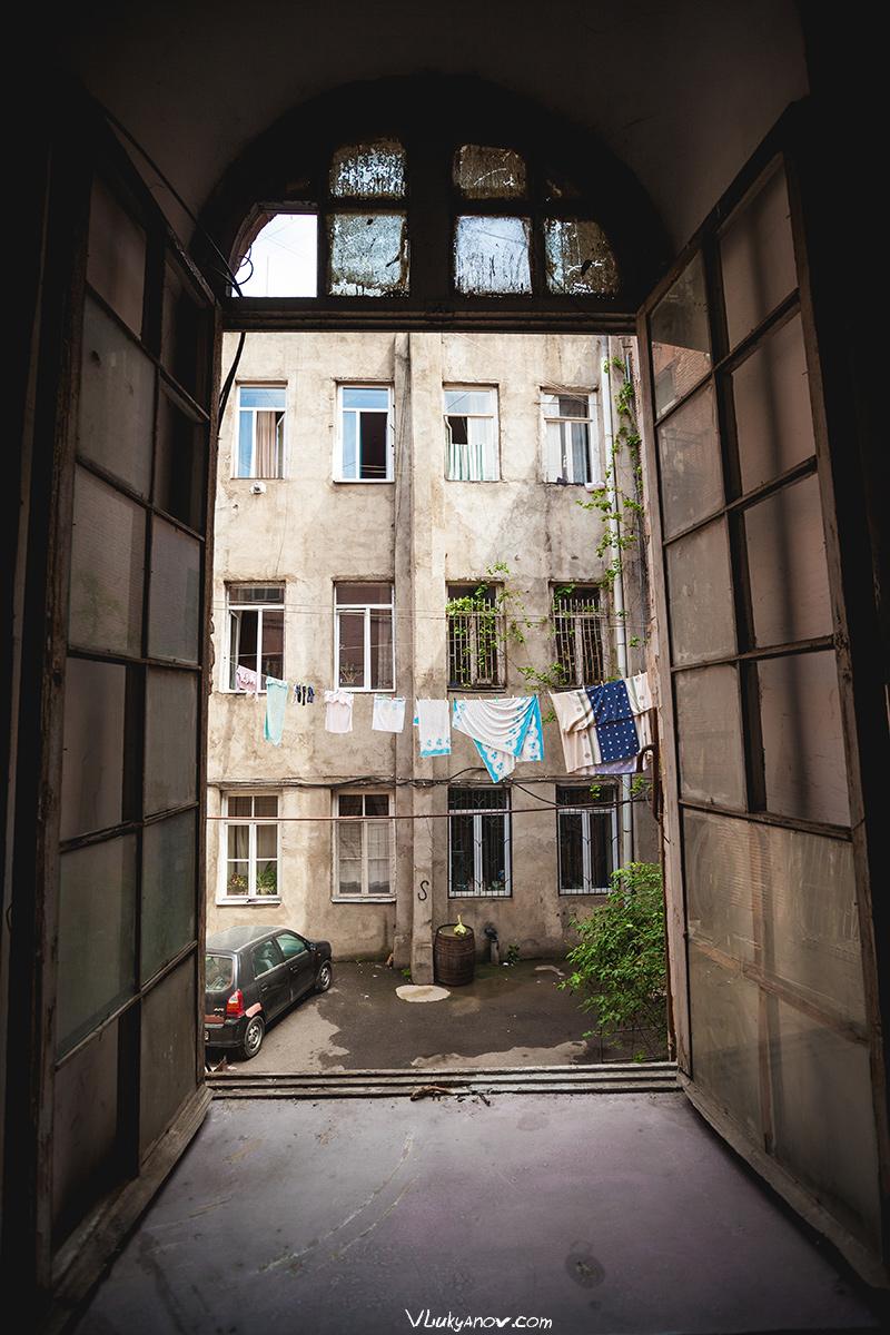 Владимир Лукьянов, Фотограф, Грузия, город, Тбилиси, дворы