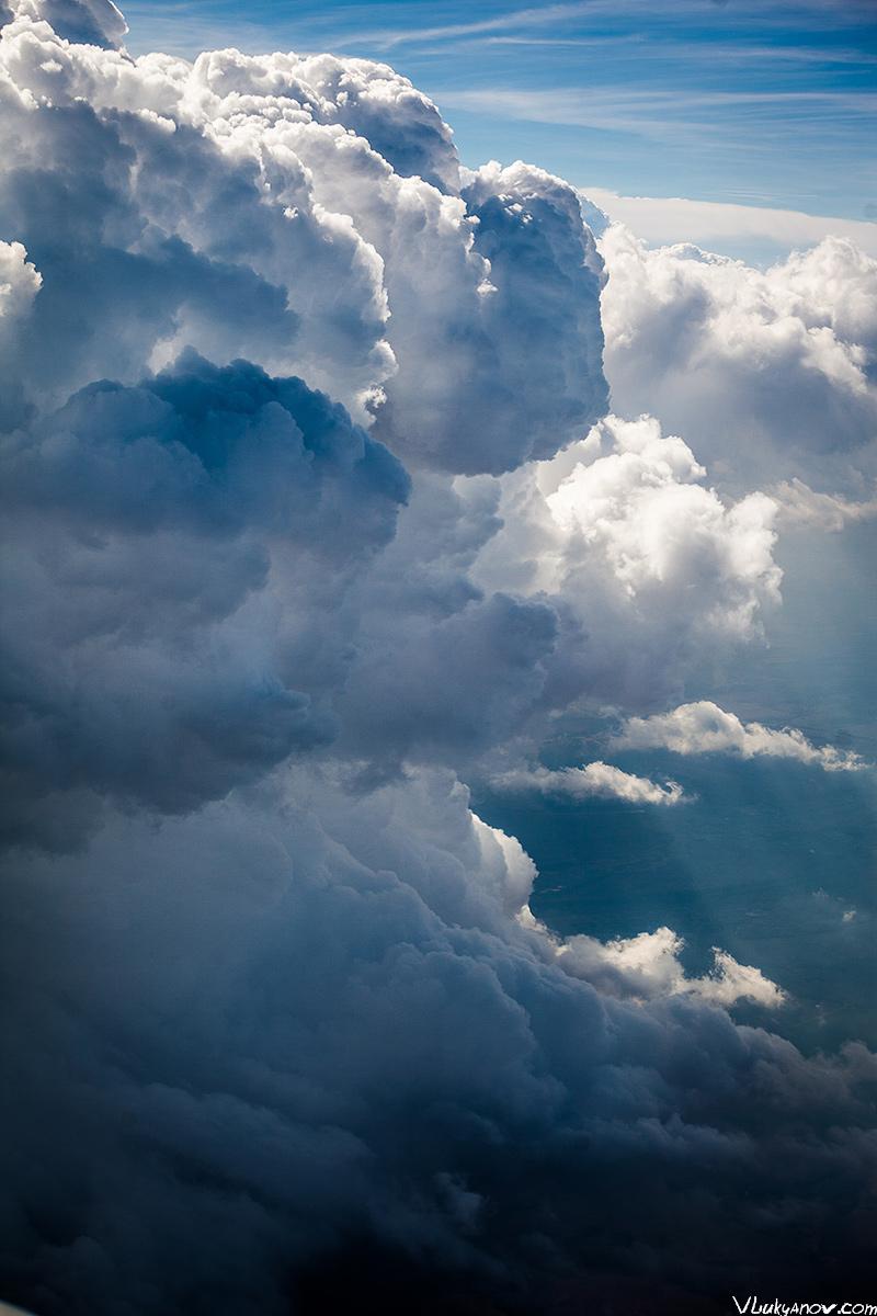 Владимир Лукьянов, Фотограф, Грузия, горы, полет, самолет, Кавказ, Эльбрус