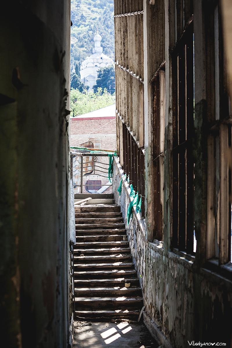 Владимир Лукьянов, Фотограф, Грузия, город, Тбилиси, Тифлис, канатная дорога, канатка, заброшенная, заброшка