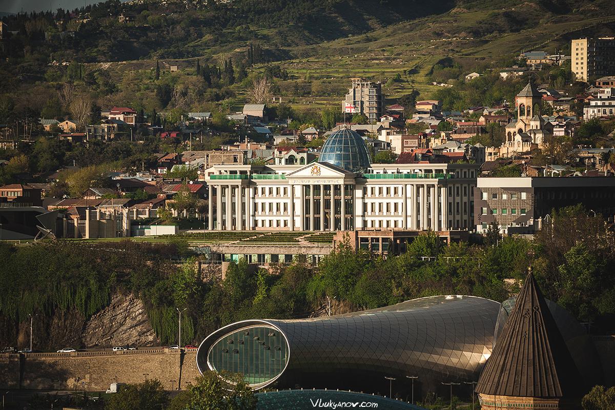 Владимир Лукьянов, Фотограф, Грузия, город, Тбилиси, Тифлис, архитектура, собор, религия, Мтацминда